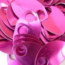 Šupiny velké růžové - 10 Ks