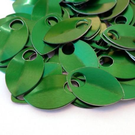Šupiny malé zelené - 10 Ks