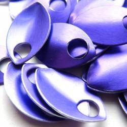 Šupiny malé purpurové - 10 Ks
