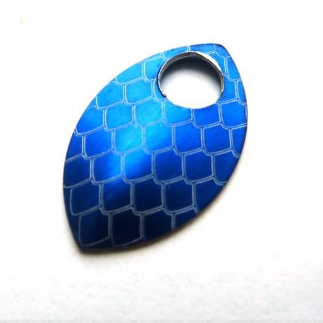 Dračí šupina malá modrá - 1 Ks