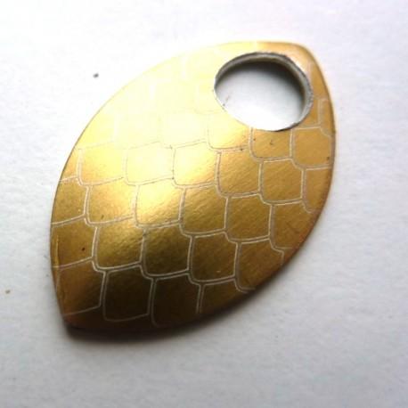Dračí šupina malá zlatá - 1 Ks