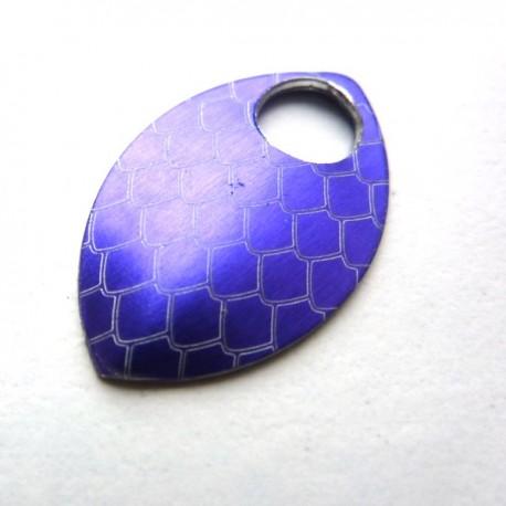 Dračí šupina malá purpurová - 1 Ks