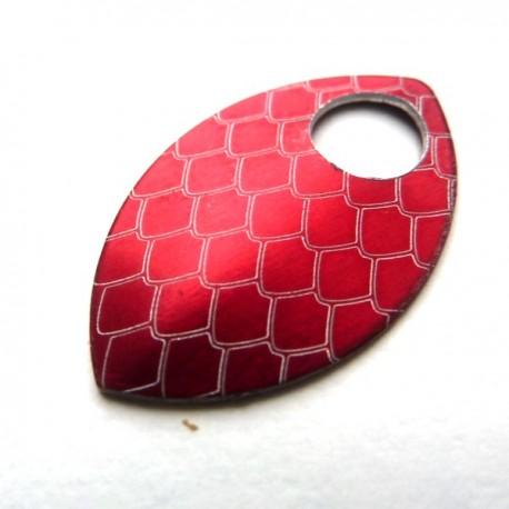 Dračí šupina malá červená - 1 Ks