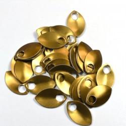 Šupiny malé bronzové - 10 Ks