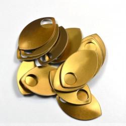 Šupiny velké bronzové - 10 Ks