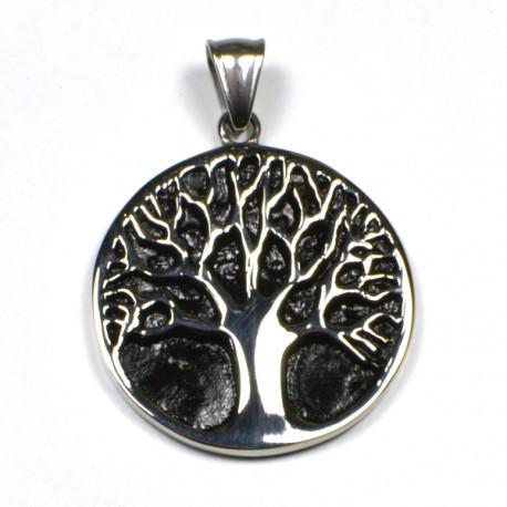 Strom života s černým podkladem