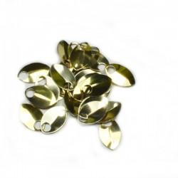 Šupiny extra malé bronzové - 10 Ks