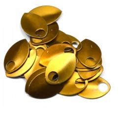 Šupiny střední bronzové - 10 Ks