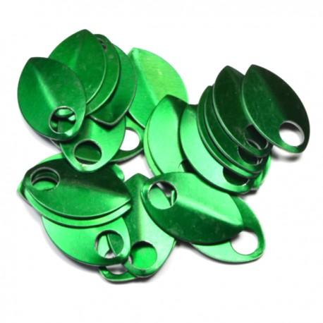Šupiny střední zelené - 10 Ks