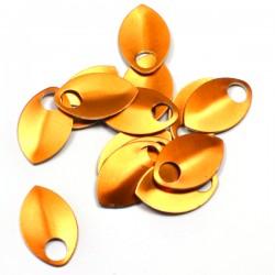 Šupiny střední oranžové - 10 Ks