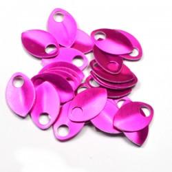 Šupiny střední růžové - 10 Ks