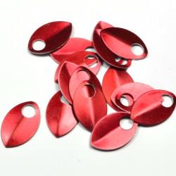 Šupiny střední červené - 10 Ks