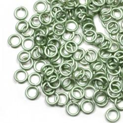 Matné kovově zelené 4/1,2 - 100 Ks