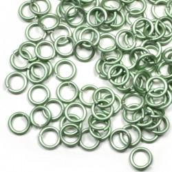 Matné kovově zelené 5/1,2 - 100 Ks
