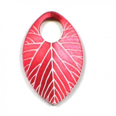 Šupina malá červená - list - 1 Ks