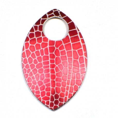 Šupina velká červená - vážka - 1 Ks