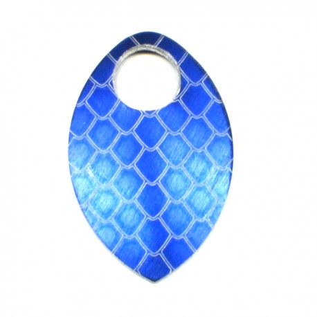 Šupina malá modrá - drak - 1 Ks