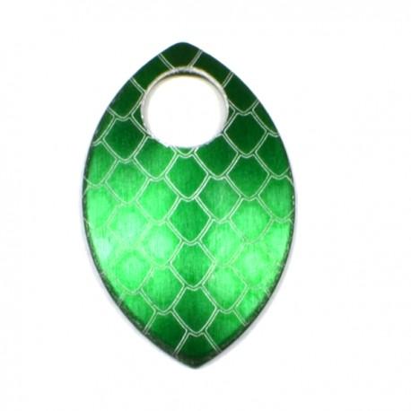 Šupina malá zelená - drak - 1 Ks