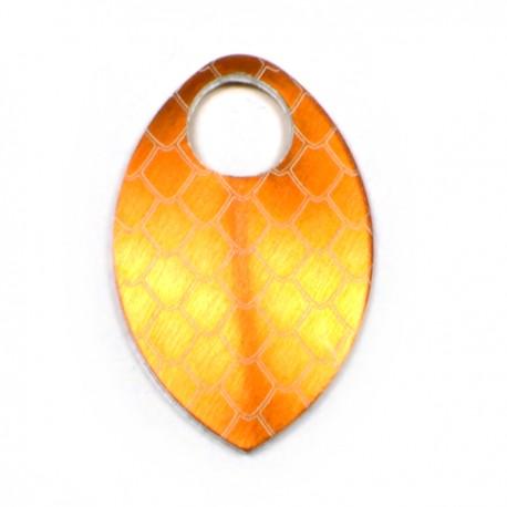 Šupina malá oranžová - drak - 1 Ks